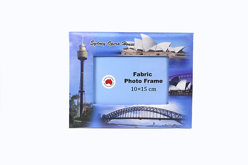 Australian Souvenir Sydney Fabric Photo Frame Opera house Home Decor Aussie gift