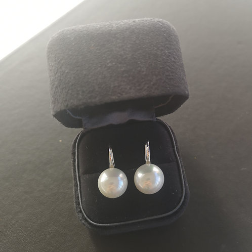 Drop Earring with Cultured Freshwater Pearl