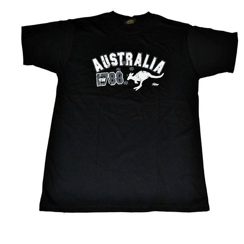 Unisex Souvenir T-shirt 100% Cotton Australia 1788 Kangaroo