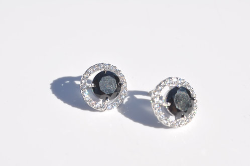 Swarovski Earrings 925 Sterling Silver Post