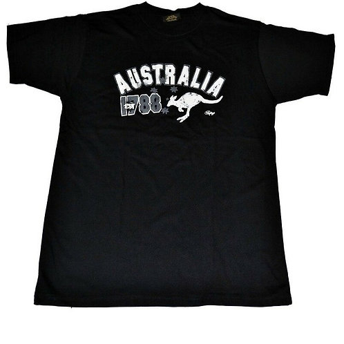 Unisex Adult Australia Souvenir T-Shirt (100% Cotton)