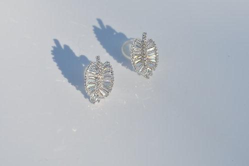 925 post fashion lady earring