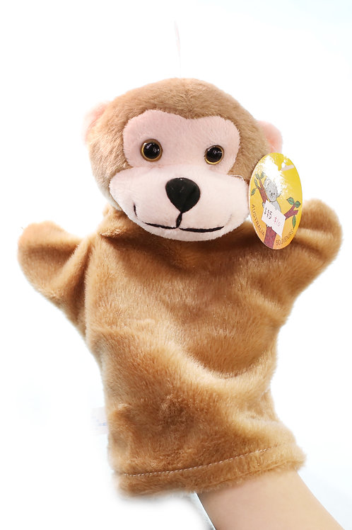 MONKEY hand puppet CUTE Animals Collections Good Gifts for Kids