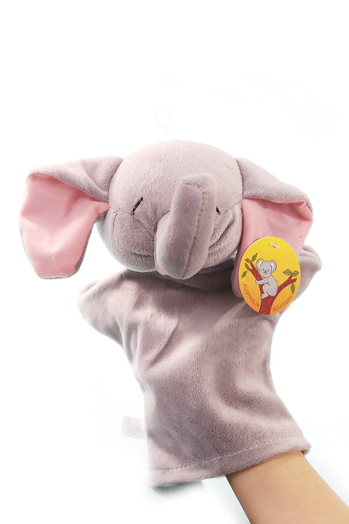 ELEPHANTS hand puppet CUTE Animals Collections Good Gifts for Kids