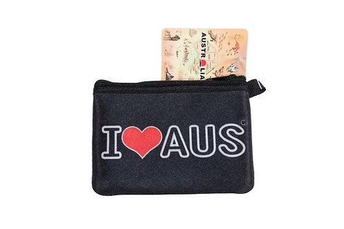Small I Love Australia Coin Wallet