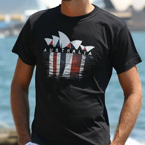 Unisex Adult Australia Souvenir T-Shirt (100% Cotton)