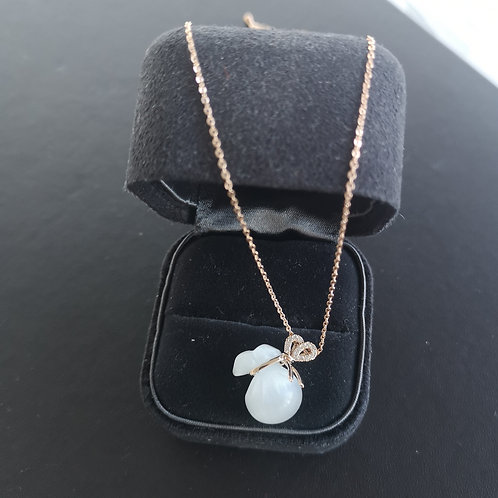 Lucky Money Bag Pendant Lady Fashion Necklace