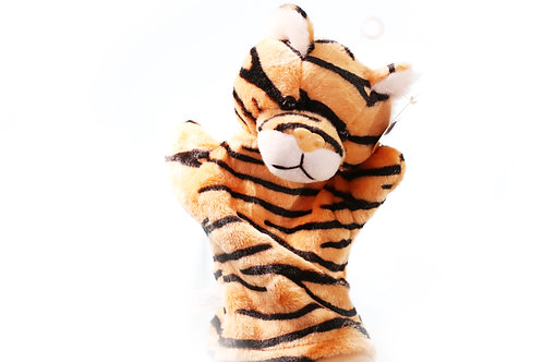TIGERS hand puppet CUTE Animals Collections Good Gifts for Kids
