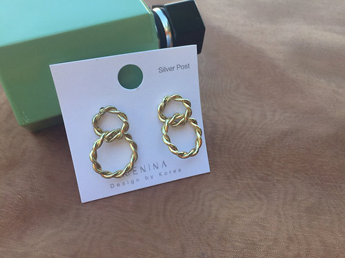 925 sterling silver post fashion lady earring