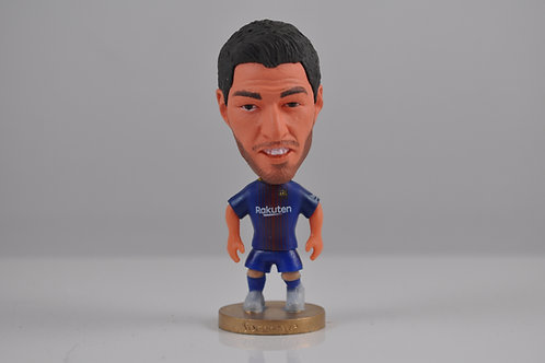 Luis Suarez FC Barcelona Soccer Player Figurine