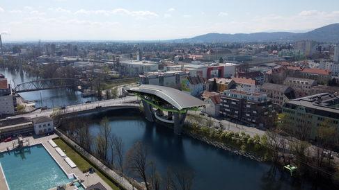 Murgondel Karlauerbrücke 1