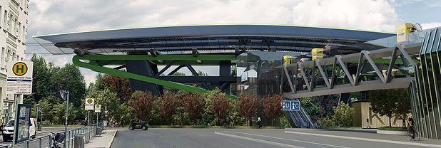 Murgondel Andreas Hofer Platz Station