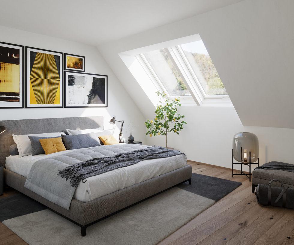 Agnesgasse Top04 Schlafzimmer