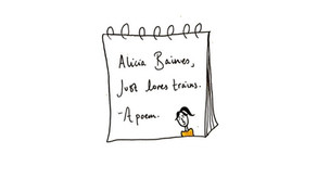 Train Journeys: a lesson in letting off steam with Alicia Baines