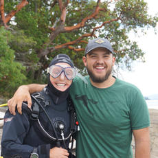 Ben & Caitlyn, Our Summer 2019 Nature House Staff