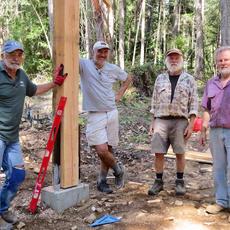 Fairyslipper Forest Kiosk Construction