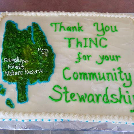 In Honour of our Islands Trust Community Stewardship Award