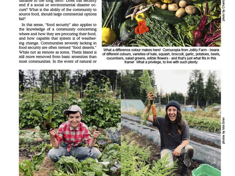 ThINCpod Cultivates Food Security on Thetis Island