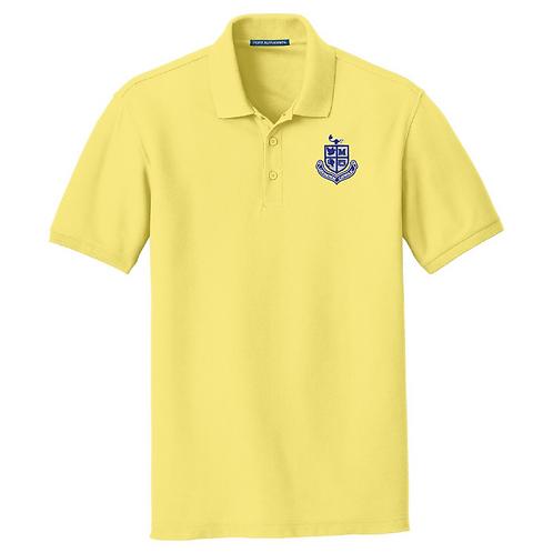Unisex Pique Polo - Yellow