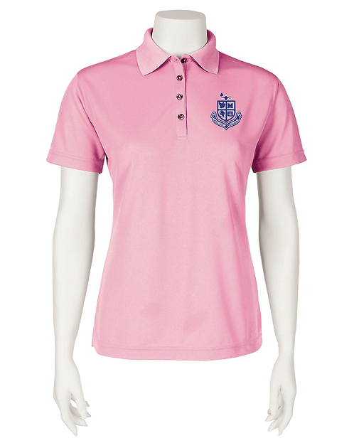 Ladies Performance Polo - Pink