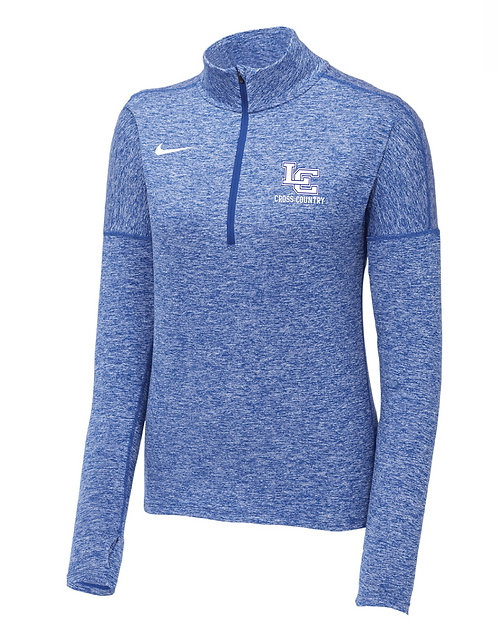 Nike Ladies X-CountryDry Element 1/2-Zip Cover-Up