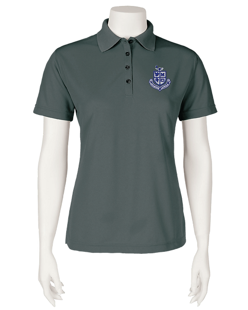 Ladies Performance Polo - Carbon