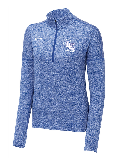 Nike Ladies Soccer Dry Element 1/2-Zip Cover-Up