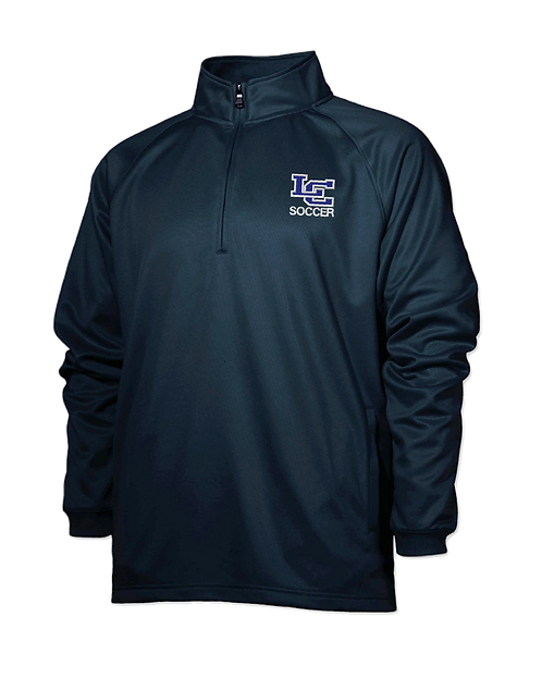 "Knights Soccer ""LC"" Performance 1/4 Zip -Black"