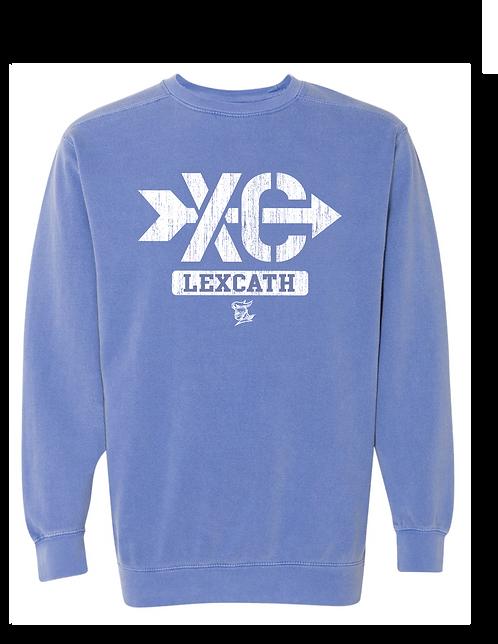 Comfort Color Cross Country  Crewneck Sweatshirt