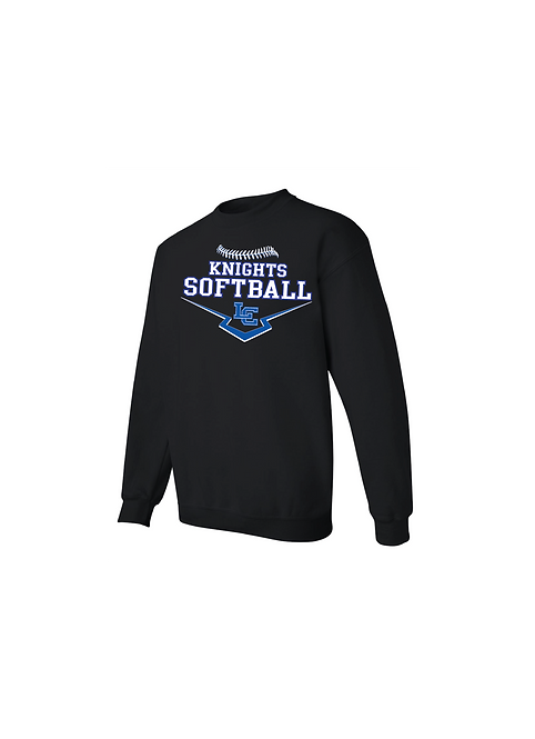 LC Softball Crewneck Sweatshirt