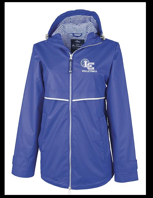 "Charles River Volleyball ""New Englander"" Rain Jacket"