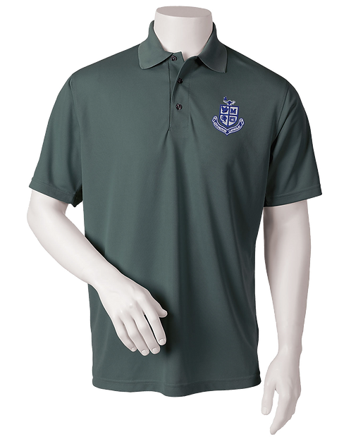 Mens Performance Polo - Carbon