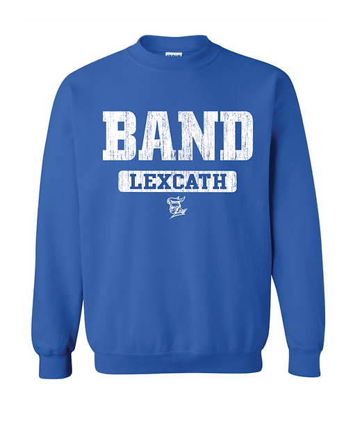BAND Traditional Crewneck Sweatshirt