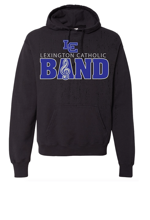 BAND Traditional l Heavy Blend Hooded Sweatshirt.Classroom Approved