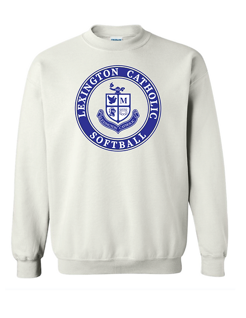 Softball Crewneck - White