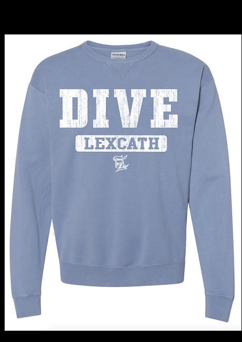 ComfortWash DIVE Crewneck  Sweatshirt-Saltwate