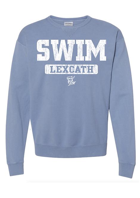 ComfortWash SWIM Crewneck  Sweatshirt-Saltwater