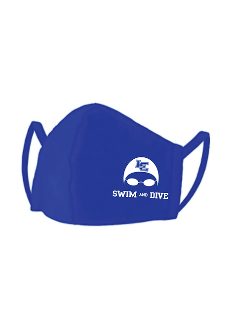 Swim & Dive Face Mask with Goggles Graphic