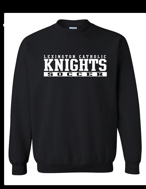 Traditional Soccer Crewneck Sweatshirt