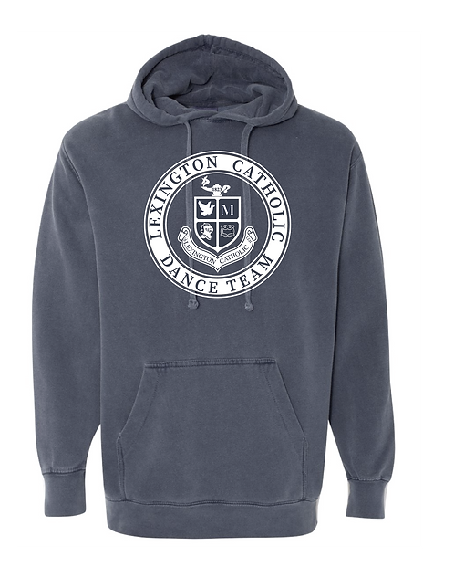 ComfortWash Dance  Hooded Sweatshirt-Denim