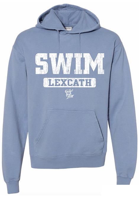 ComfortWash SWIM Hooded  Sweatshirt-Saltwater