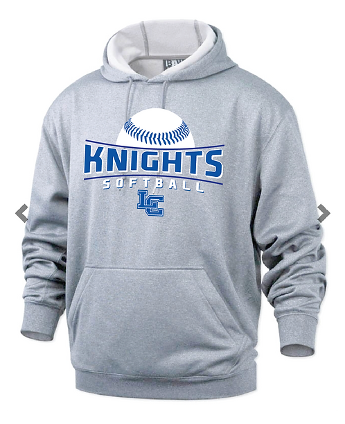 LC Softball Performance Hooded Fleece