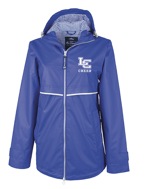 "Charles River CHEER ""New Englander"" Rain Jacket"