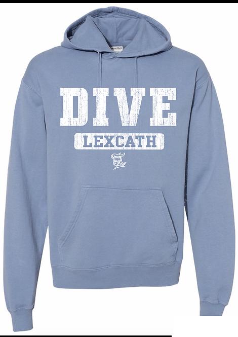 ComfortWash DIVE Hooded  Sweatshirt-Saltwater