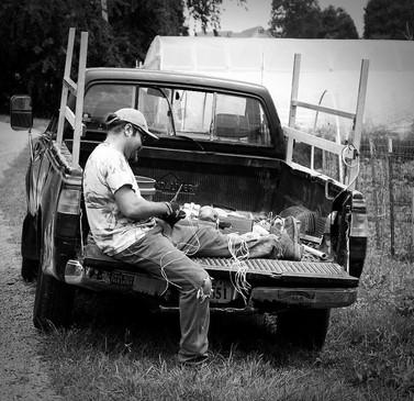 Abingdon Organics Farm Truck
