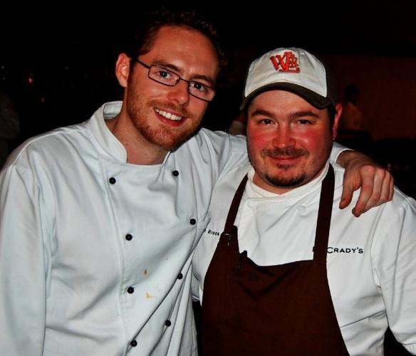 Chef Sean Brock & Chef Nathan Breeding Charleston SC