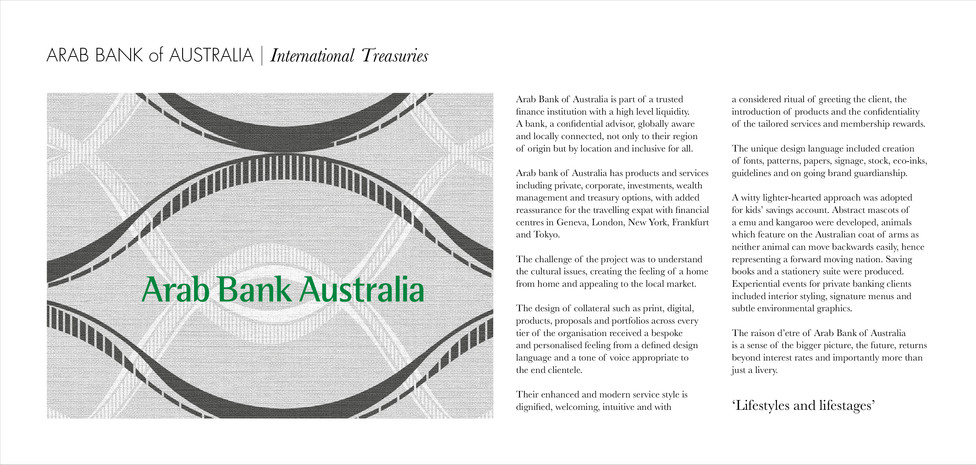 N | Arab Bank Australia strategy