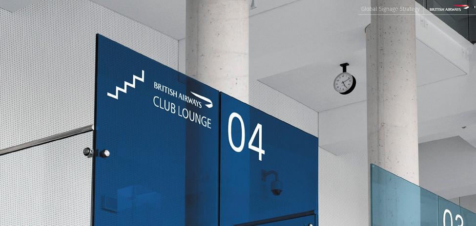 N | British Airways signage
