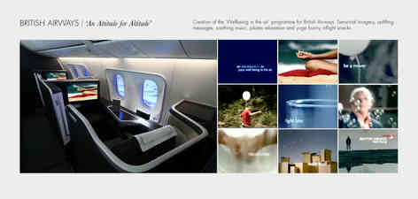 N   British Airaways 'Wellbeing in the Air'