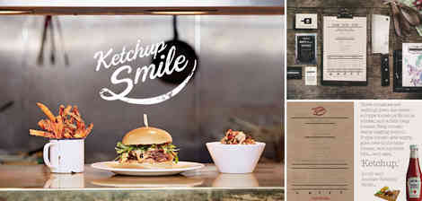 N | Ketchup Smile Burger Collateral
